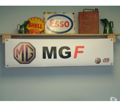 Photos Vivastreet Banderole MGF - MG F - Idéal décoration garage