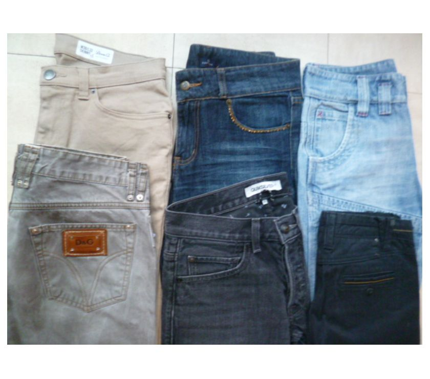 Photos Vivastreet lot de JEANS homme - 34-36-38 - zoe