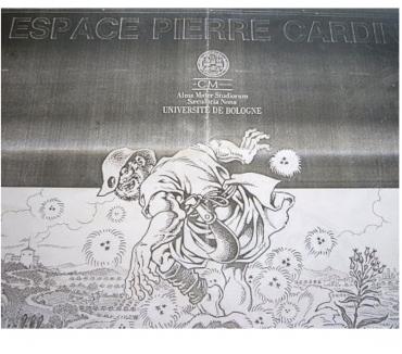 Photos Vivastreet Cherchez affiche Bertoldo Espace Pierre Cardin 1988