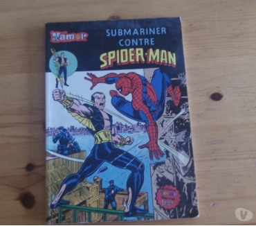 Photos Vivastreet Namor N° 8 : Submariner Contre Spider-Man