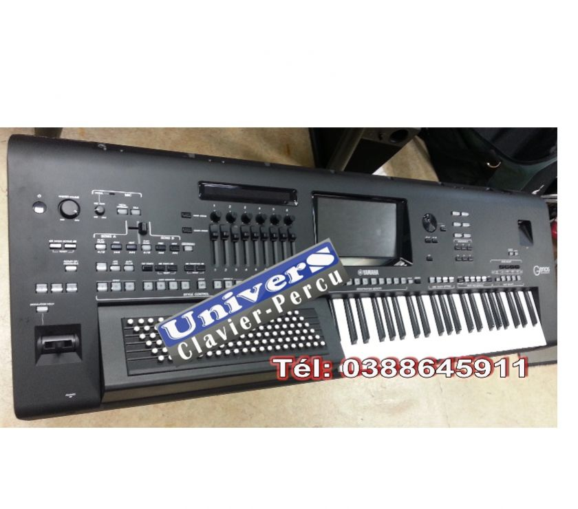 Photos Vivastreet YAMAHA GENOS - basses accordéon-main droite piano