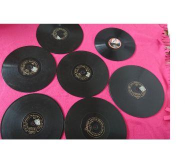 Photos Vivastreet lot de disques 78 tours pour décoration