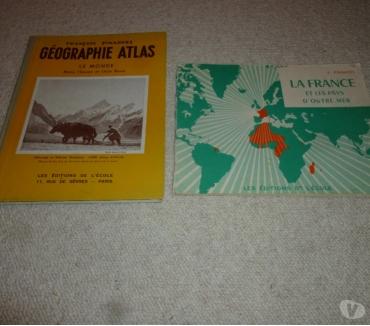 Photos Vivastreet 2 livres sur la géographie