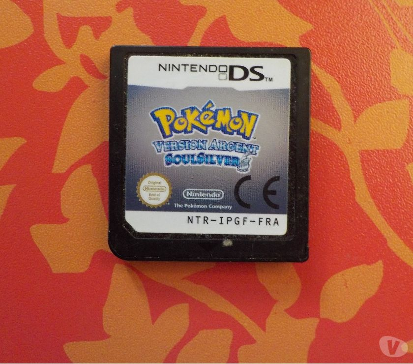 Photos Vivastreet Jeu Nintendo DS Pokemon Version Argent