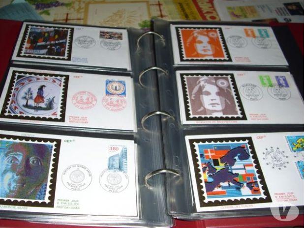 Photos Vivastreet Collection Enveloppes 1er Jour sur Soie
