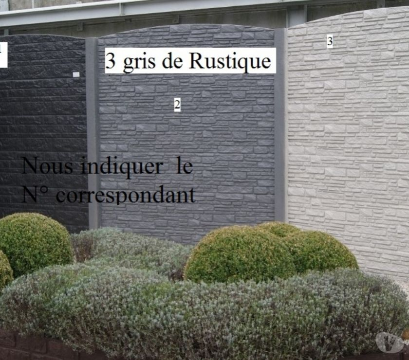 Nord Armentieres - 59280 - Photos Vivastreet cloture en béton décorative