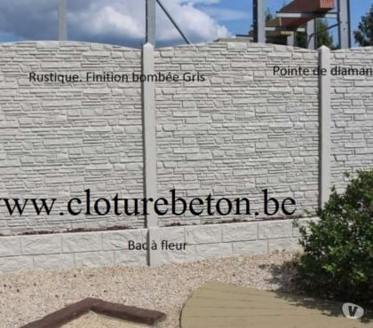 Photos Vivastreet CLOTURE BETON PROTECTION