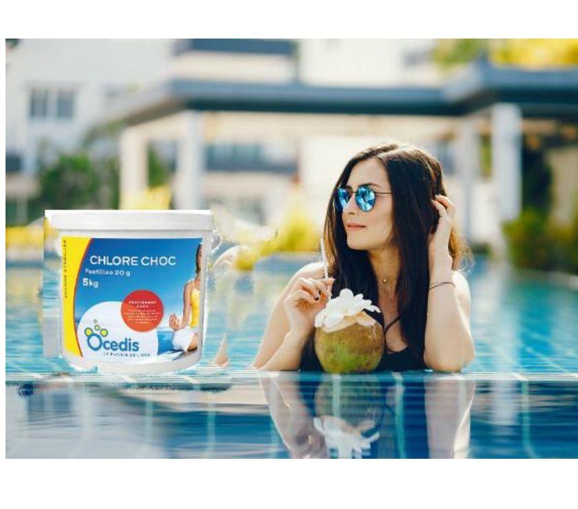 Photos Vivastreet chlore choc seau 5 kg en granulé pour piscines