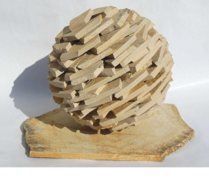 Photos Vivastreet Sculpture Boule Zen design calcaire