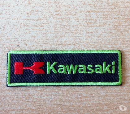 Photos Vivastreet Écusson moto kawasaki Thermocollant 7,5x2 cm