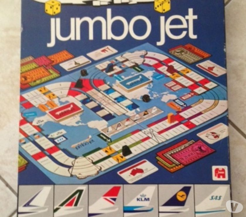 Photos Vivastreet Jeu de société JUMBO JET