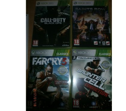 Photos Vivastreet Jeux Xbox 360