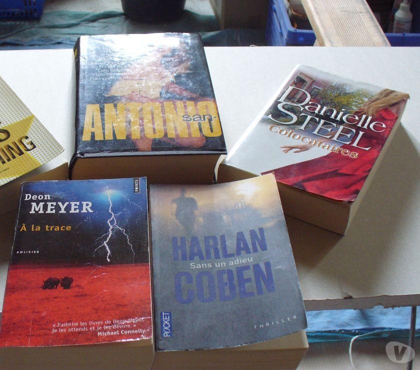 Photos Vivastreet livres policier et roman