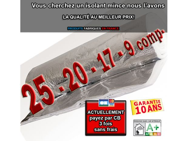Gironde Bordeaux - Photos Vivastreet Isolant mince thermoreflecteur 20 comp- lots 255m²