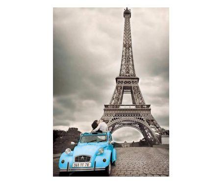Photos Vivastreet Affiche poster 51.5 X 36 : Tour Eiffel & 2CV
