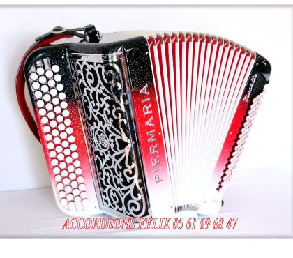 Photos Vivastreet ACCORDEON PIERMARIA P 318 L PROFESSIONNEL MUSETTE.