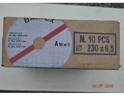 Photos Vivastreet Boites de 10 disques à meuler l'acier ou l'inox