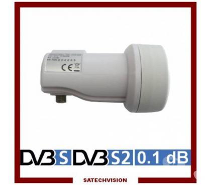 Photos Vivastreet LNB Single 0,1 dB Tête Universelle Parabole 1 Sortie Full HD