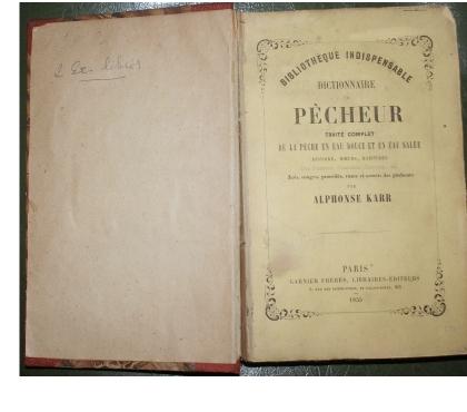 Photos Vivastreet livre de 1855 sur la pêche