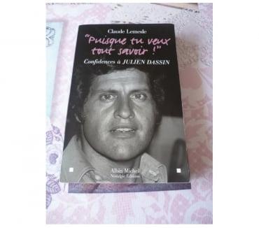Photos Vivastreet Livre Joe Dassin Puisque tu veux tout savoir Albin michel no
