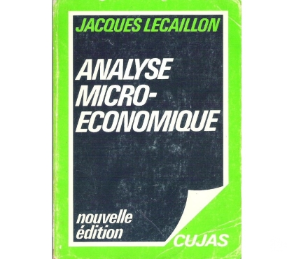 Photos Vivastreet Analyse microéconomique (Jacques Lecaillon)