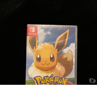 Photos Vivastreet Pokémon Evoli Nintendo Switch Neuf