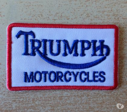 Photos Vivastreet Ecusson patch triumph motor cycles thermocollant 7x4 cm