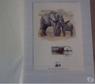Photos Vivastreet ALBUM DE TIMBRES THEME ELEPHANTS , RARE