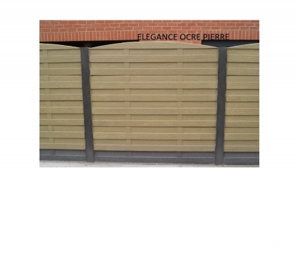 Photos Vivastreet Clôture en beton décoratif. Surplus de chantier.