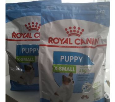 Photos Vivastreet Croquettes Royal Canin Puppy X small 2x 3 kilos neufs
