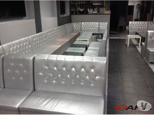 banquette restaurant chicha snack brasserie chr aubigny sur nere 18700 meubles pas cher d. Black Bedroom Furniture Sets. Home Design Ideas