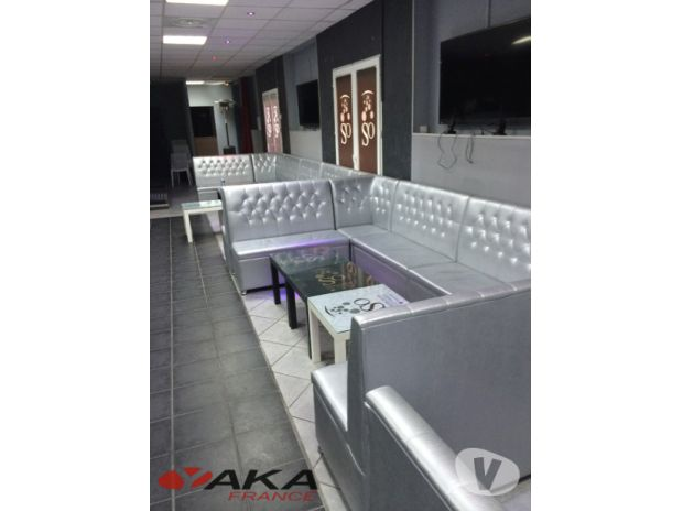 banquette restaurant chicha snack brasserie chr aubigny. Black Bedroom Furniture Sets. Home Design Ideas
