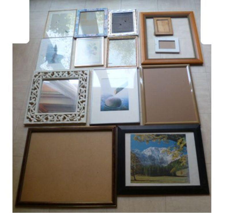 Photos Vivastreet lot de cadres de dimensions diverses