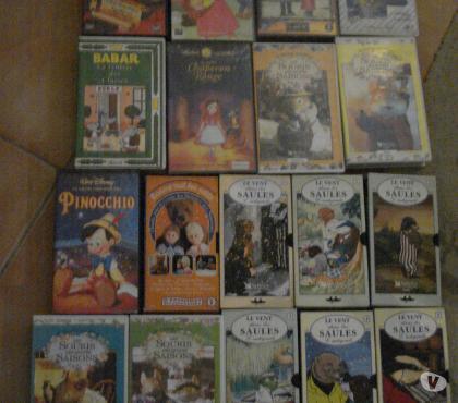Photos Vivastreet Lot de 18 cassettes K7 VHS jeunesse enfant vidéo