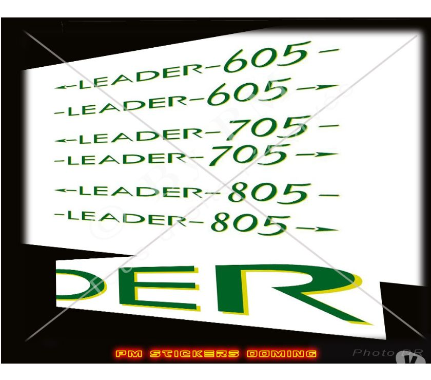 Stickers Jeanneau Leader 605 705 805 St Laurent Du Var