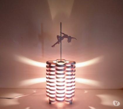 Photos Vivastreet Lampe pole dance en bois