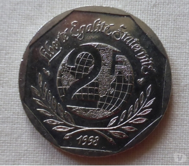 Photos Vivastreet piece 2 francs 1998