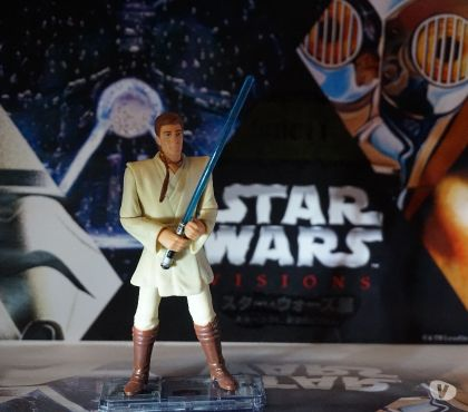 Photos Vivastreet Figurine star wars obiwan kenobi commtech