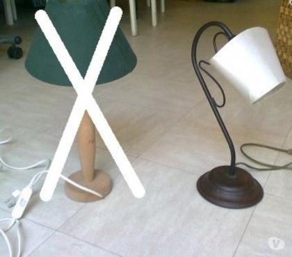 Photos Vivastreet lampe fer forgé, 2 lampes de chevet - zoe