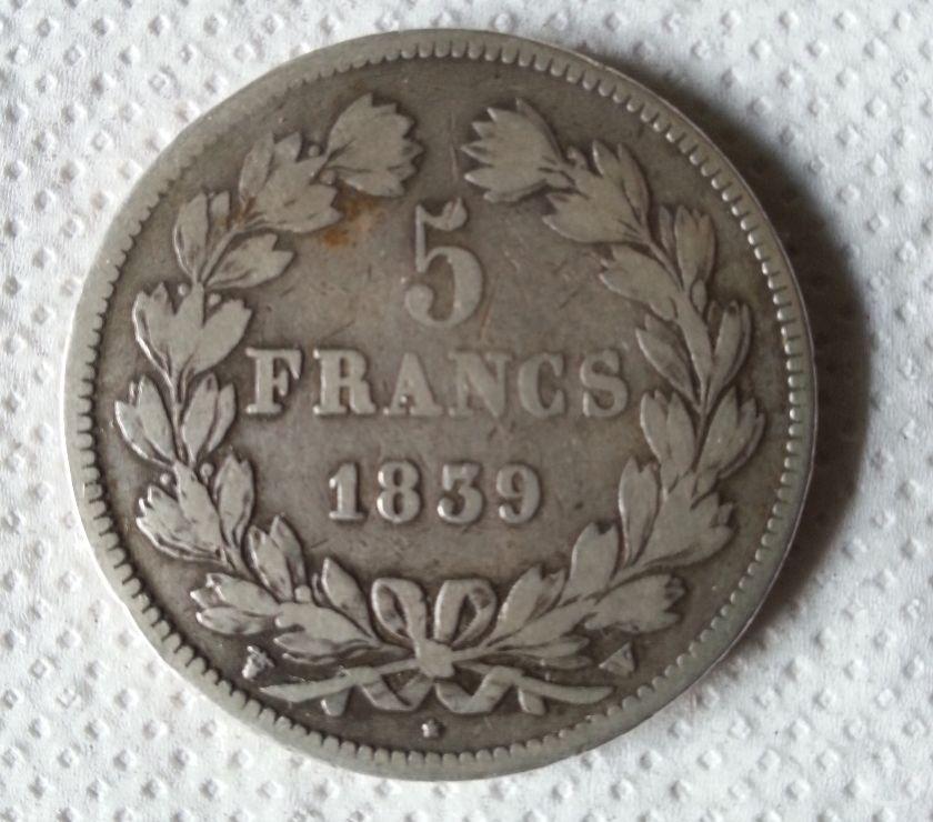 Collection Seine-et-Marne Montceaux les Provins - 77151 - Photos Vivastreet 5 francs louis philippe