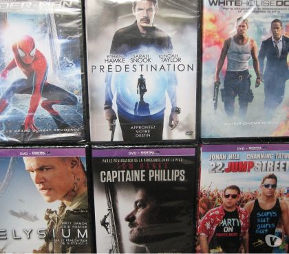 Photos Vivastreet dvd SPIDER-MAN,PREDESTINATION,WHITE HOUSE DOWN, ELYSIUM...