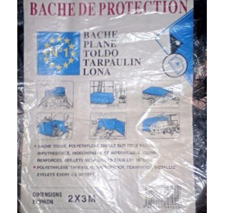 Photos Vivastreet BACHE DE PROTECTION PLANE _ jamais servie _ 2 m x 3 m