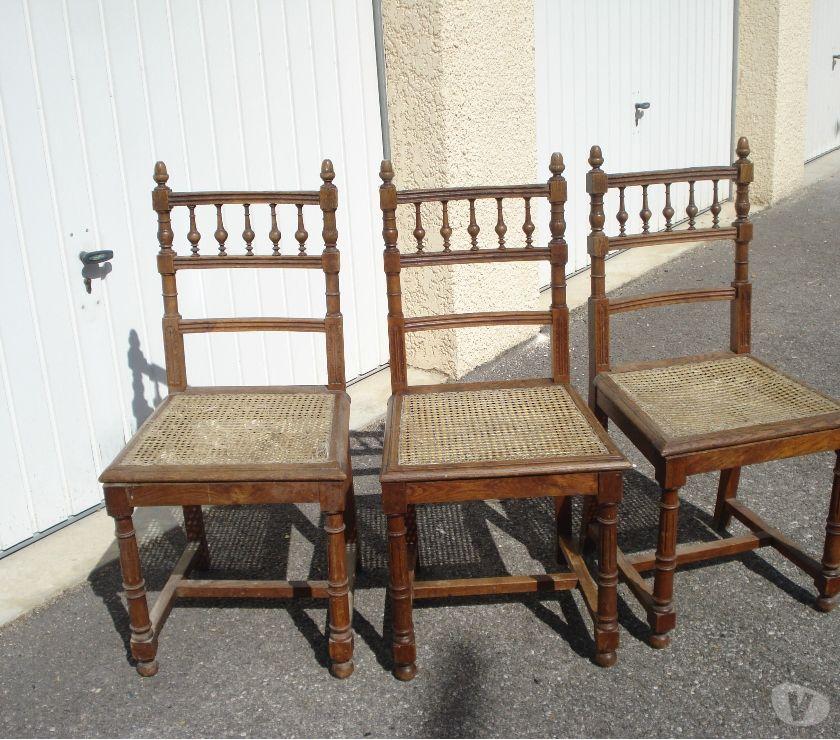 Ameublement & art de la table Drôme St Vallier - 26240 - Photos Vivastreet chaises anciennes