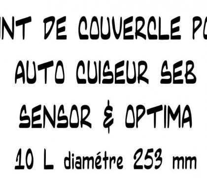 Photos Vivastreet JOINT DE COUVERCLE POUR AUTO CUISEUR SEB SENSOR 10 L