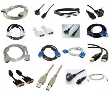 Photos Vivastreet 5x cables informatiques au choix DVI ALIM POWER VGA USB JACK
