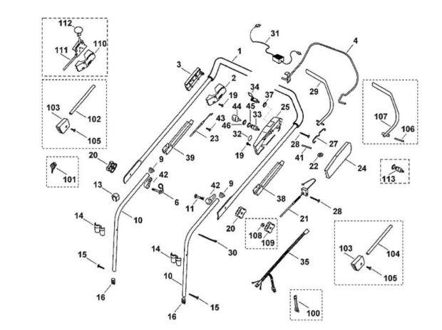 pi ces pour tondeuse viking mb 455 girmont val d 39 ajol. Black Bedroom Furniture Sets. Home Design Ideas
