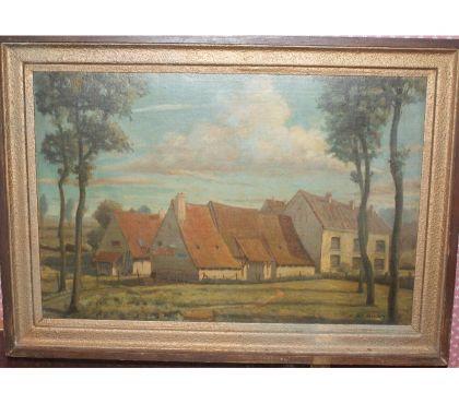 Photos Vivastreet Michel BERNIER (1888-1942) rare peinture sur toile
