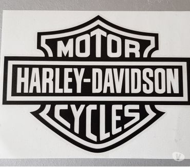 Photos Vivastreet Autocollant bar and shield harley 20x15 cm