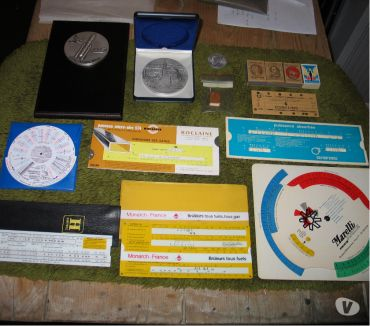 Photos Vivastreet Règles à calcul PRO Vintage et médailles