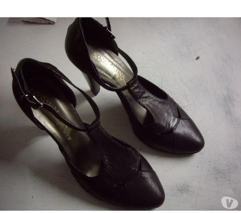 Photos Vivastreet Escarpins Noir pt 39 San Marina talons 10 cm